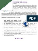 Servicio de Red Social y Redes Sociales - Aranitxa