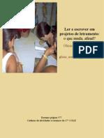 Ler e Escrever Em Projetos de Letramento