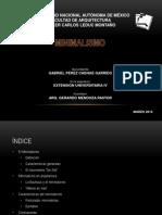 Extension IV - Minimalismo