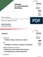 LCI Database Presentation