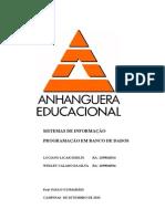 ATPS Programacao Banco Dados