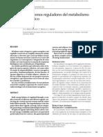 Mecanismos reguladores del metabolismo energético