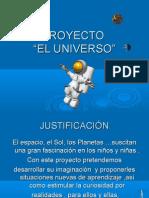 PROYECTO - EL UNIVERSO