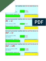 Form Konversi Basis Kualitas Batubara