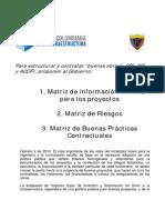 Justificacion Matrices -Rueda de Prensa-4 Febrero2010