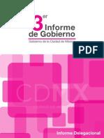 Informe Delegacional III Informe de Gobierno Miguel Ángel Mancera