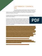 Ingeniería Antisísmica y Dinámica Estructural