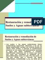 Cap v Restauración y Remediación Suelos Aguas