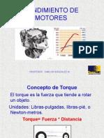 Rendimiento de Motores 1