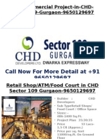New Commercial Project in CHD Sector 109 Gurgaon 9650129697