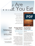 You Are What Eat Poster2 Tabloid