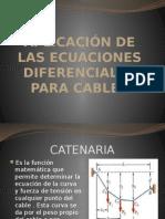 Aplicación de Las Ecuaciones Diferenciales Para Cables (1)