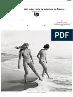 12 años en el centro más grande de naturismo en Francia