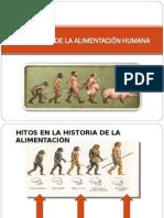 Evolución de La Alimentación Humana