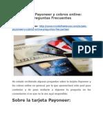 Tarjeta Payoneer y cobros online