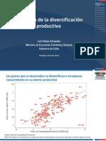El Desafío de La Diversificación Productiva (1) Chile