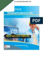 Solucionario Analisis Matematico III Eduardo Espinoza Ramos