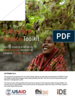 Firm to Farm Finance Toolkit