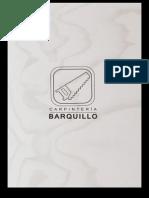 catálogo Barquillo