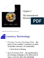 02. the International Monetary System
