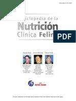 Enciclopedia de nutricion clinica felina