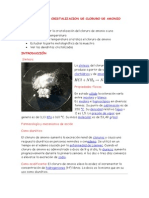 INFORME DE  CRISTALIZACIÓN DE CLORURO DE AMONIO