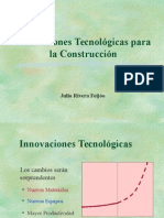 Innovaciones Tecnológicas Para La Construcción