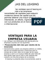Ventajas Del Leasing