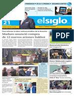 Edicion Impresa El Siglo 21-09-2015