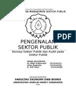 1. Pengenalan Sektor Publik