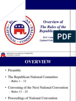 Rules of the Republican Party Overview
