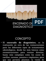 Encerado de Diagnostico