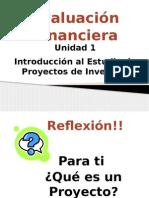 Modulo 1-Evaluación de Proyectos de Inversión