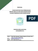Proposal Bantuan Dana 2014