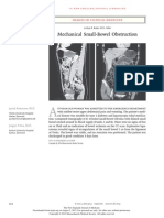 Mechanical Small-Bowel Obstruction NEJM