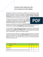 Plan de Trabajo Lagunas Alto Peru