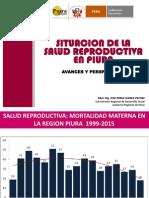 Salud Sexual y Reproductiva 2015