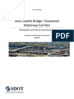West Seattle Bridge Corridor Whitepaper