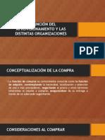 La Función Del Aprovisionamiento y Las Distintas Organizaciones_scribd