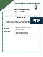 AGUAYMANTO DESHIDRATADO INFORME