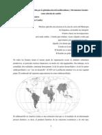 Generacion Del Subdesarrollo Por Globalizacion