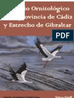 Anuario OrnitolÓgico de La Provincia de cádiz