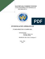 Investigacion Operativa II - 4 Practica