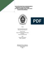 Analisis Kepuasan Dan Hubungannya Dengan Loyalitas Pasien Rawat Inap Di Rumah Sakit Dedy Jaya Kabupaten Berebes