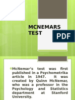 Mcnemars Test
