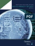 2010 BSA Piracy Study-Standard