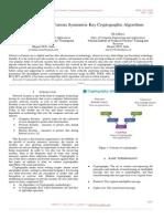 Critical Analysis of Various Symmetric Key Cryptographic Algorithms