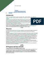 Manual Operativo Del Programa Del Vaso de Leche