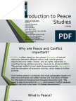 Introduction to Peace Studies (ESL)