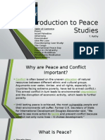 Introduction to Peace Studies (ESL)